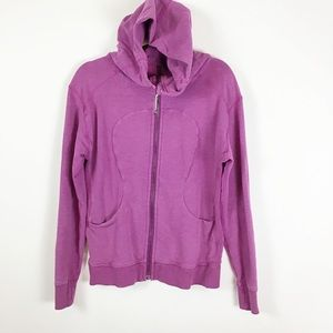 Lululemon purple  zip up hoodie